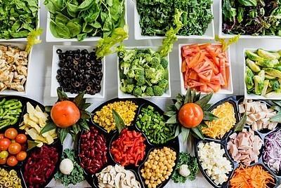 Vegetais deliciosos